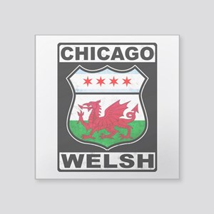Chicago Welsh American Sign Sticker