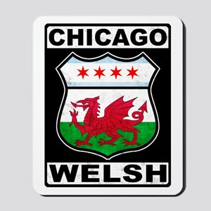 Chicago Welsh American Sign Mousepad