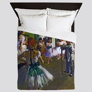 Degas - The Ballet Class Queen Duvet