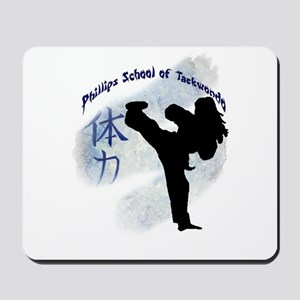 Phillips School of Taekwondo Mousepad