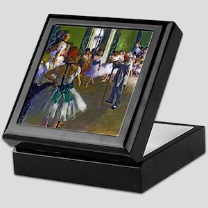 Degas - The Ballet Class Keepsake Box