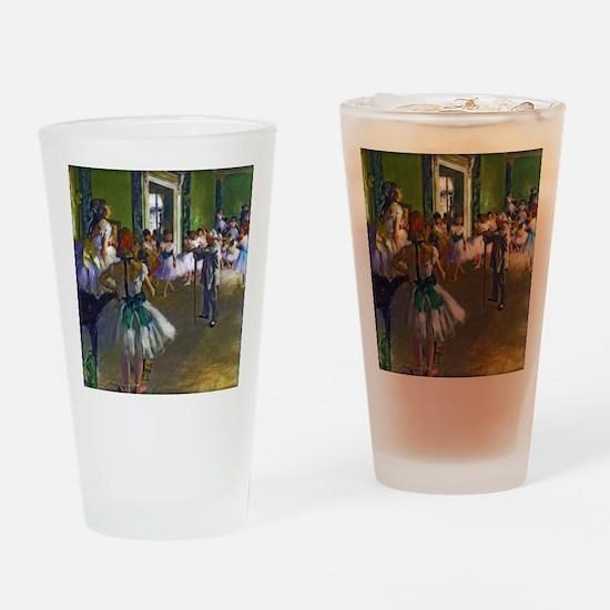 Degas - The Ballet Class Drinking Glass
