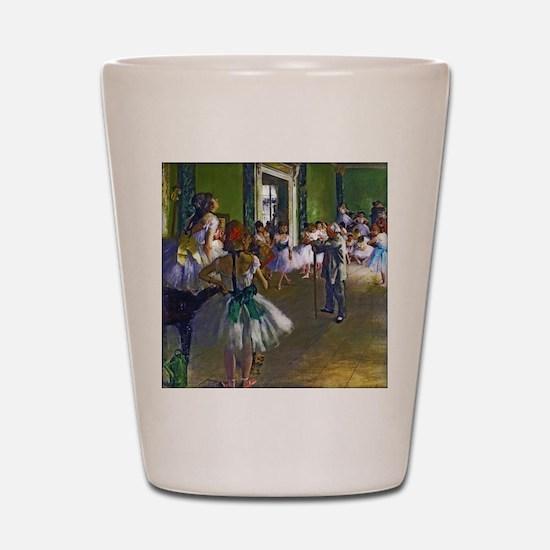 Degas - The Ballet Class Shot Glass