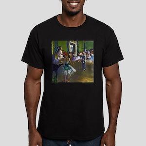 Degas - The Ballet Cla Men's Fitted T-Shirt (dark)