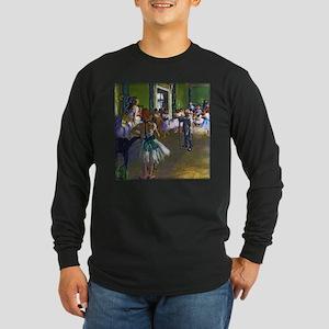 Degas - The Ballet Class Long Sleeve Dark T-Shirt
