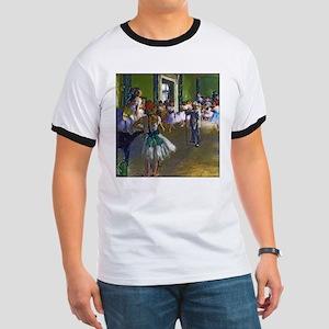 Degas - The Ballet Class Ringer T