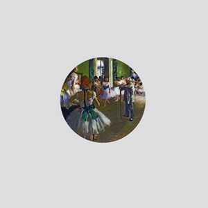 Degas - The Ballet Class Mini Button