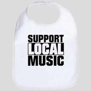 Support Local Music Bib