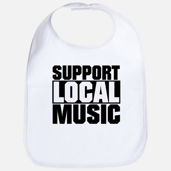 Support Local Music Bib