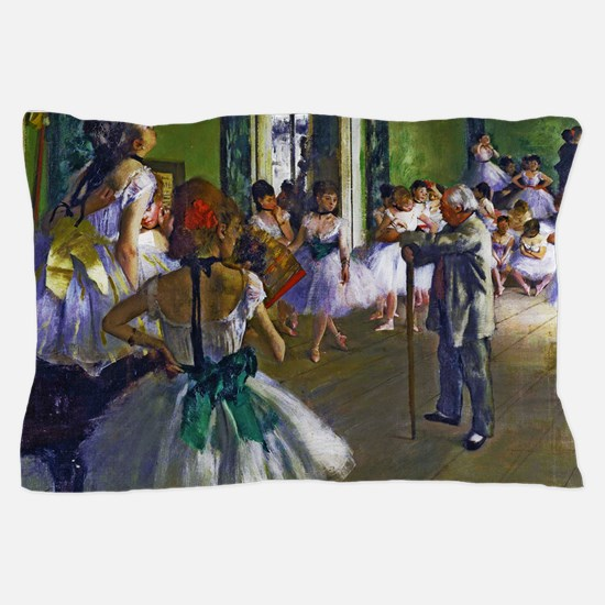Degas - The Ballet Class Pillow Case