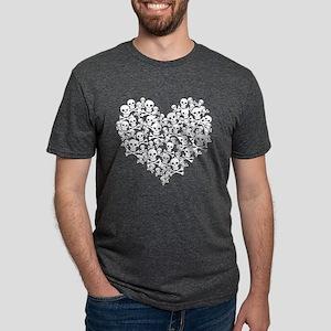skullheart Mens Tri-blend T-Shirt