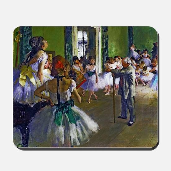 Degas - The Ballet Class Mousepad