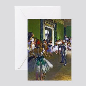 Degas - The Ballet Class Greeting Card