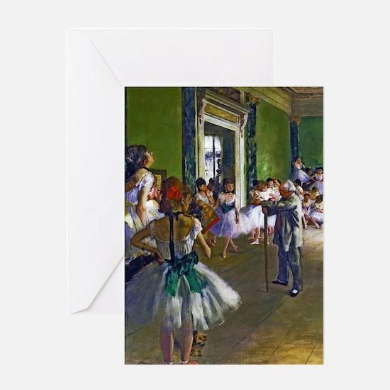 Degas - The Ballet Class Greeting Card
