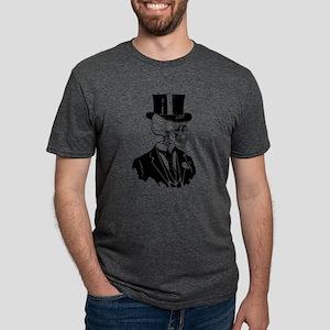 skull-groom Mens Tri-blend T-Shirt
