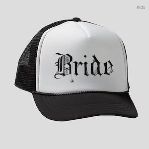 tr_bride Kids Trucker hat