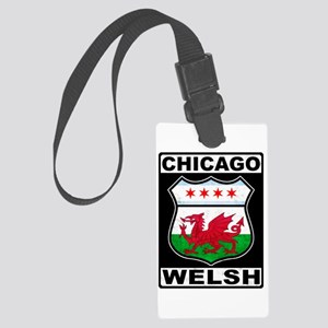 Chicago Welsh American Sign Luggage Tag