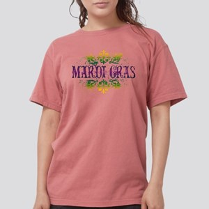 mardi-gras Womens Comfort Colors Shirt