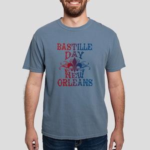 Bastille Day New Orleans Mens Comfort Colors Shirt