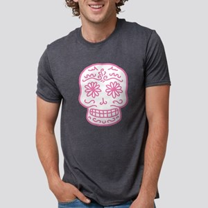 sugar-skull_pk Mens Tri-blend T-Shirt
