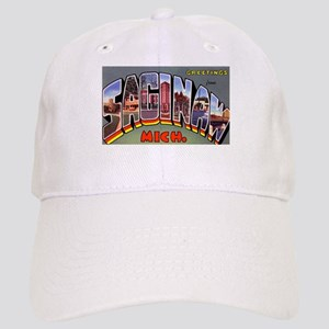 Saginaw Michigan Greetings Cap