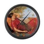 In Realms of Fancy 1911 - CLOCK Large Wall Clock
