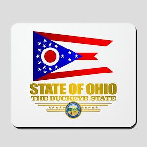 Ohio Flag Mousepad