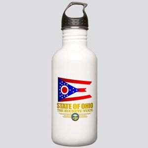 Ohio Flag Water Bottle