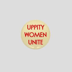 UPPITY WOMEN UNITE Mini Button (10 pack)