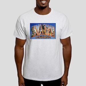 Savannah Georgia Greetings Ash Grey T-Shirt