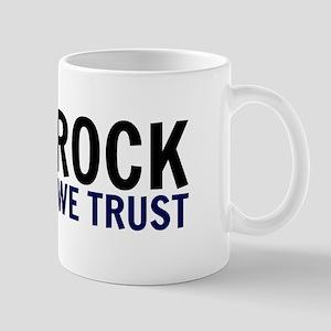 In Rock We Trust Mugs