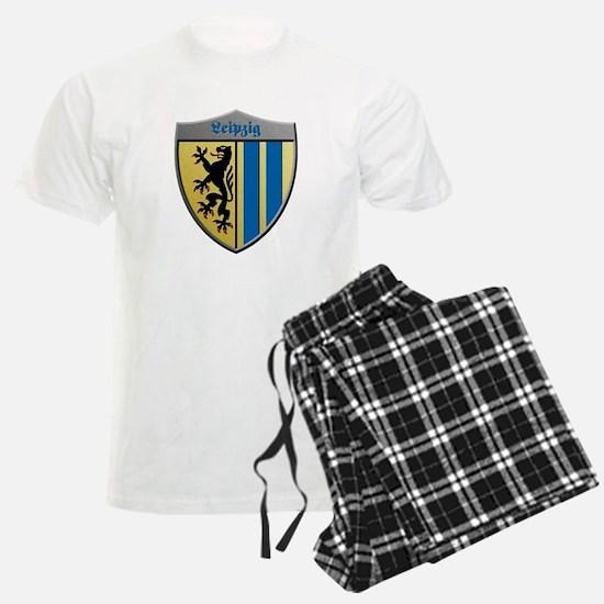 Leipzig Germany Metallic Shield Pajamas
