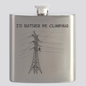 I'd Rather Be Climbing Flask