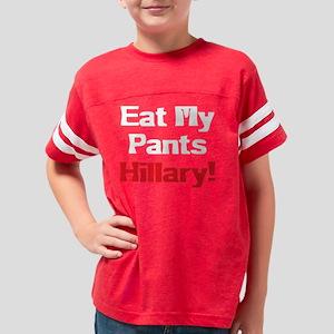 pants_hillary_black Youth Football Shirt