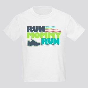 Run Mommy Run - Shoe - Kids Light T-Shirt