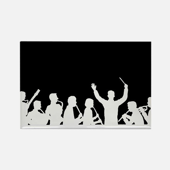 band conductor image outline Rectangle Magnet