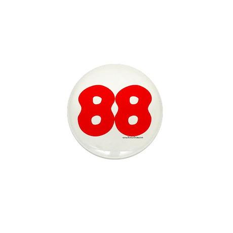 "88 ""Hugs and Kisses"" Mini Button"