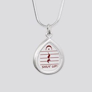 music notation shut up maroon Necklaces