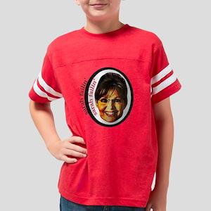 sarah_palin Youth Football Shirt