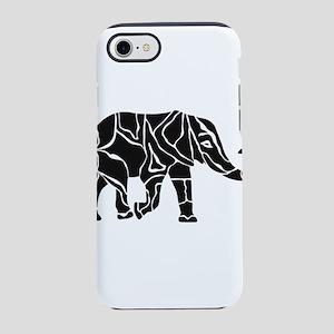 Elephant Graphic iPhone 7 Tough Case