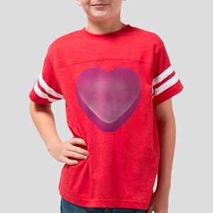 Candyheart_pnk Youth Football Shirt