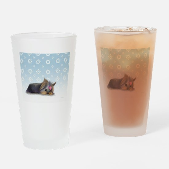 ByCatiaCho Yorkie L.Thinker Drinking Glass