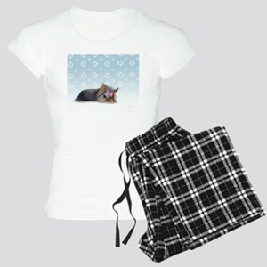 ByCatiaCho Yorkie L.Thinker Women's Light Pajamas