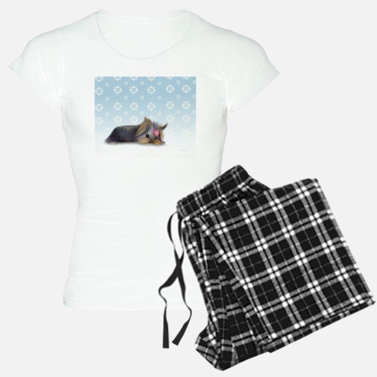 ByCatiaCho Yorkie L.Thinker Pajamas