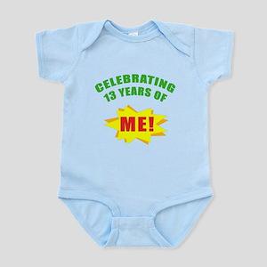 Celebrating Me! 13th Birthday Infant Bodysuit