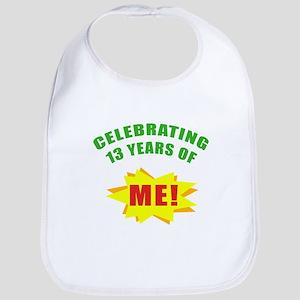 Celebrating Me! 13th Birthday Bib