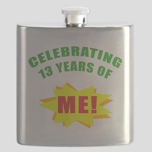 Celebrating Me! 13th Birthday Flask