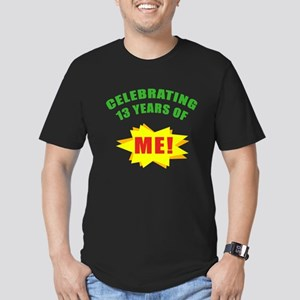 Celebrating Me! 13th Birthday Men's Fitted T-Shirt