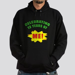 Celebrating Me! 13th Birthday Hoodie (dark)