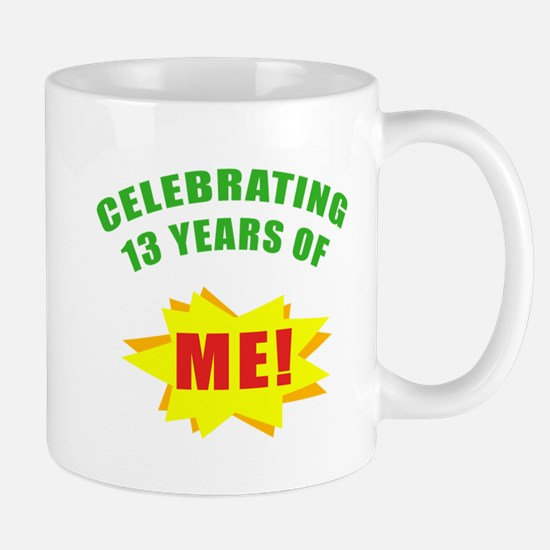 Celebrating Me! 13th Birthday Mug